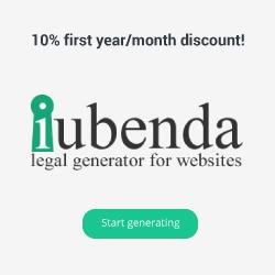iubenda Legal Generator GDPR