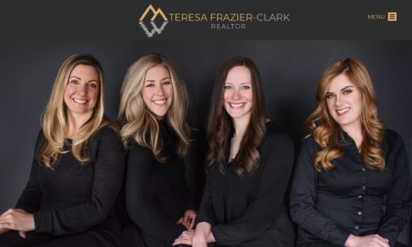 Teresa Frazier Clark Mammoth Lakes Real Estate website done by Shugart Connections